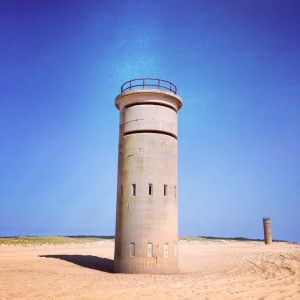 World War II era observation towers still dot the Delaware coastline