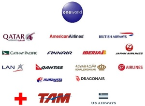 The oneworld partner airlines