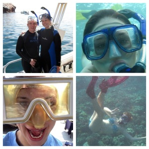 Who take a snorkel around the world?  THIS GIRL!
