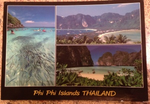 Who doesn't love a good postcard?  My parents still keep this 5 year old postcard that I sent from Koh Phi Phi on their fridge.  Maybe it's time to send them a new one....