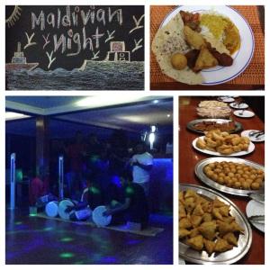 Great food and fun at the weekly Maldivian night