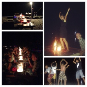 More food, fun and dancing on a deserted island for the weekly beach BBQ