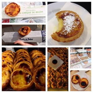 A few of the egg tarts, aka pastel de belem, aka pasteis de belem, that I sampled in my quest to find the best.